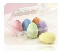 EggShaped Easter Chalk