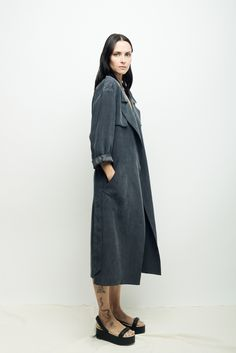 Wrap Trench in carbon