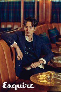 Lee Jin Wook for Esquire Korea October Photographed by Zoo Yong Gyun Lee Jin Wook, Hallyu Star, Korea Fashion, Men's Fashion, Korean Star, Cute Korean, Esquire, Korean Actors, Korean Drama