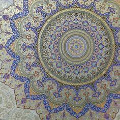 Instagram fotoğrafı: mohsen aghamiri • 3 Mayıs 2015, 20:23 Geometry Art, Sacred Geometry, Persian Motifs, Islamic Paintings, Arabic Art, Islamic Art Calligraphy, Oriental, Portrait Illustration, Tile Art