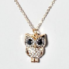 Another owl necklace from claires!
