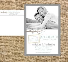 Custom Wedding Save the date Magnet-postcard or flat by event123