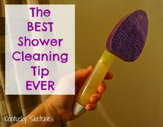 The Best Shower Cleaning Tip Ever