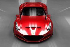 The beautiful Ferrari 612 GTO Concept! - Artists Inspire Artists
