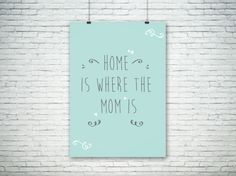 Freebie: Poster home