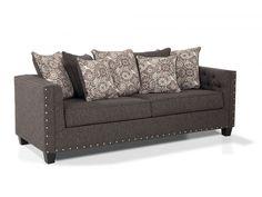 Sofa With Bob-O-Pedic Gel Memory Foam Mattress Queen Sleeper!