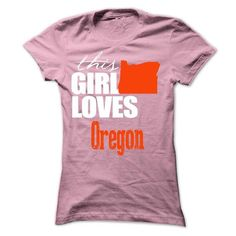 This girl love Oregon