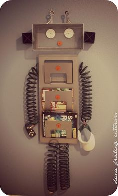 Make them wonder how to create your own robot decor for Robot room decor