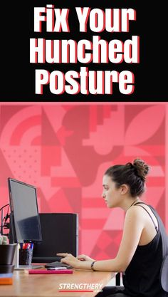5 simple exercises to fix your hunched posture! Improve your posture today!