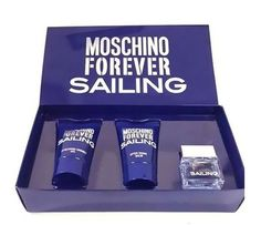 #MOSCHINO FOREVER #SAILING FOR MEN 3 PIECE SET @$11.15 with free shipping. Moschino forever sailing for men provides a fragrance of Eau de Toilette Spray. It is one of the latest products in the market and is delivered in an original retail box.