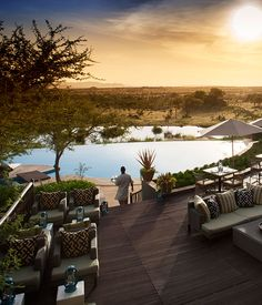Safari Lodge The Four Seasons, Serengeti, Tanzania Loved every minute there. Africa is beautiful.