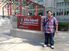 Ellis Island, so much history.