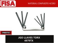 JGO LLAVE TORX 4979TX. Material compuesto de acero-  FERRETERIA INDUSTRIAL -FISA S.A.S Carrera 25 # 17 - 64 Teléfono: 201 05 55 www.fisa.com.co/ Twitter:@FISA_Colombia Facebook: Ferreteria Industrial FISA Colombia