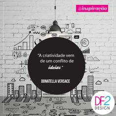 [INSPIRAÇÃO] A DF2 deseja uma boa semana repleto de bons sentimentos #df2#inspiração #designlovers  ✌