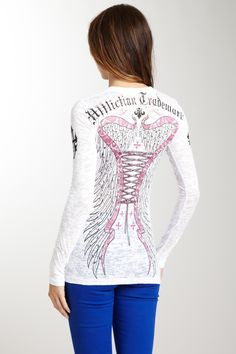 Affliction. I love this!! ….. Affliction pays us 9.2% cash back. Sign up for FREE at www.dubshopping.com