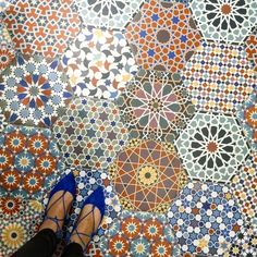 Make a geometric impression with honeycomb tiles - they're a hot trend for Read on to discover some of our favourite ways with hexagon Moroccan Tiles, Moroccan Decor, Moroccan Bedroom, Moroccan Lanterns, Moroccan Interiors, Turkish Tiles, Tile Art, Mosaic Tiles, Tiling