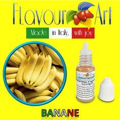 E-Liquide saveur Banane de Flavour Art sur Top Cigarette Electronique