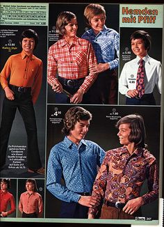 1972 Quelle 247 Jungenmode