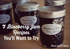 """What do you think?  Should I make blueberry-lavendar jam?""  I asked, as I walked into the kitchen carrying 3-quarts of my farmer's market find. ""I don't know about lavendar, but blueberry sounds good,"" my husband replied without missing a beat. ""Ok, how about spiced blueberry jam?"" ""Blueberry."" ""Regular blueberry? Really?"" ""Yes."" And so regular blueberry [Read More...]"