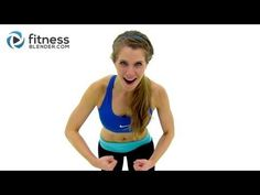 ▶ 45 Minute HIIT & Total body Toning Tabata Workout - High Intensity Interval Training Workout - YouTube