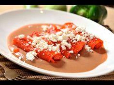 Enchiladas de jícama en cama de frijol al estilo de Sonia Ortiz por Cocina al natural