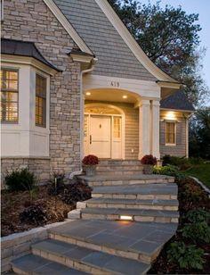 house entrance...