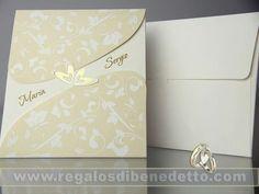 #Invitaciones para #bodas románticas, elegantes, divertidas, modernas... sea cual sea tu estilo, en #Regalos Di Benedetto tenemos la invitación que buscas