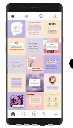 Layout Do Instagram, Canva Instagram, Instagram Feed Planner, Instagram Feed Ideas Posts, Instagram Grid, Instagram Post Template, Instagram Design, Graphic Design Branding, Graphic Design Posters