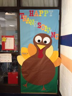 Turkey Thanksgiving Classroom School Door Decoration Fall images ideas from Best Door Photos Collection Thanksgiving Classroom Door, Fall Classroom Door, Thanksgiving Door Decorations, Thanksgiving Bulletin Boards, School Door Decorations, Thanksgiving Crafts For Kids, Classroom Decor, Thanksgiving Turkey, Kindergarten Thanksgiving