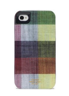 My brother is actually a man of leisure.  He just doesn't look that way.  This Jack Spade fabric iPhone case would make his inner idle be visible to all. Because what man connected to gritty reality would own this?