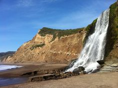 Most Beautiful Places to Visit in California: Road Trip Ideas - Thrillist Alamere Falls, Point Reyes, CA California Places To Visit, Beautiful Places In California, Beautiful Places To Visit, California Travel, Northern California, Lakes In California, Amazing Places, Alamere Falls, Places To Travel