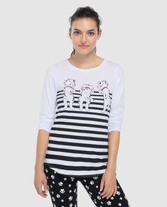 914229341d Camiseta de pijama de mujer Disney de 101 Dálmatas