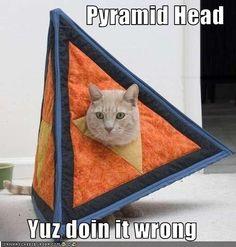 kitty pyramid head