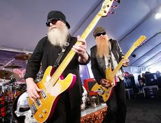 Dusty Hill and Billy F Gibbons Billy F Gibbons, Frank Beard, Hot Blue, Zz Top, Celebrity Caricatures, Texas, Awesome Beards, Rockn Roll, Sharp Dressed Man