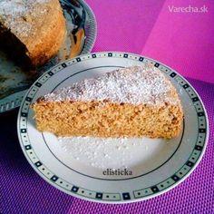 Mrkvovo-orechový koláčik bezlepkový