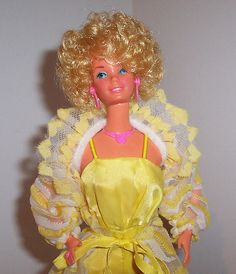 Pretty Changes Barbie - may have been this Barbie whose hair I hacked on to look like Carol Brady, but it didn't work out, ha!