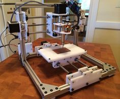 So, you have a CNC laser cutter but you want a CNC mill? Problem solved. This project is a small CNC mill that can be assembled from store-bought and laser-cut ...