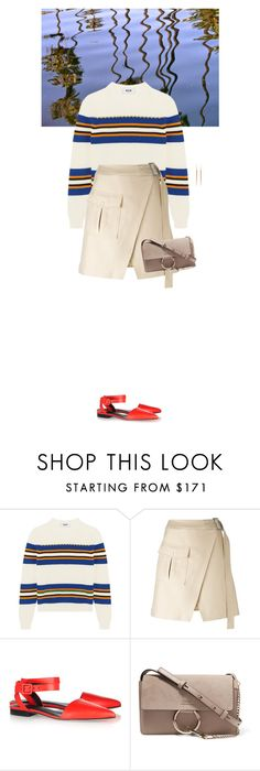 """""""Untitled #2587"""" by wizmurphy ❤ liked on Polyvore featuring MSGM, C/MEO COLLECTIVE, Alexander Wang, Chloé, K/LLER COLLECTION and AlexanderWang"""