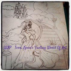 Terri's WIP a cinderella story