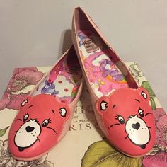 New!! Care Bear Flats size 10!❤️ Brand new with box, Care bear flats size 10. From Iron Fist, run on small side. Iron Fist Shoes Flats & Loafers