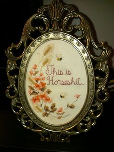 Thrilling Designing Your Own Cross Stitch Embroidery Patterns Ideas. Exhilarating Designing Your Own Cross Stitch Embroidery Patterns Ideas. Cross Stitching, Cross Stitch Embroidery, Embroidery Patterns, Funny Embroidery, Cross Stitch Designs, Cross Stitch Patterns, Going Away Presents, Subversive Cross Stitches, Snitches Get Stitches
