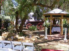Sunnybrae Wedding Ceremony - Pepper Tree Gazebo