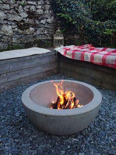 New ceramic fire bowl Halo design.co