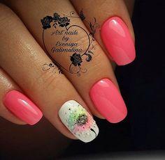Sexy Nail Art, Sexy Nails, Spring Nails, Summer Nails, Summer Design, Pedicures, Fabulous Nails, Accent Nails, Flower Nails
