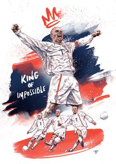 I was privileged enough to be asked by the guys at Bleacher Report to be one of the eleven artists producing a illustration for 'The Art of David Beckham' project to commemorate his birthday. Each artist was appointed a key moment in David Beckham'… Soccer Art, Football Art, Street Football, Basketball, David Beckham Wallpaper, David Beckham Football, Captain Fantastic, Sports Graphic Design, England Football