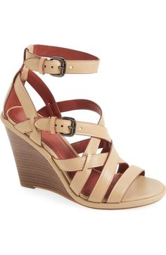 COACH 'Dawn' Wedge Sandal (Women). #coach #shoes #sandals
