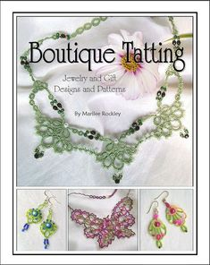 TATTING PATTERN QUADRILLE tatted earring pattern by yarnplayer