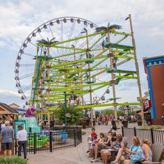 Did you know you can purchase a 24-hour unlimited rides pass at The Island in Pigeon Forge, TN?