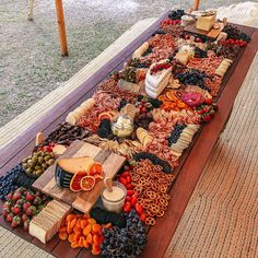 Grazing Table - Wedding Graze - Zoey M. Party Food Platters, Cheese Platters, Breakfast Platter, Wedding Appetizers, Wedding Appetizer Table, Charcuterie And Cheese Board, Wedding Catering, Charcuterie Wedding, Grazing Tables