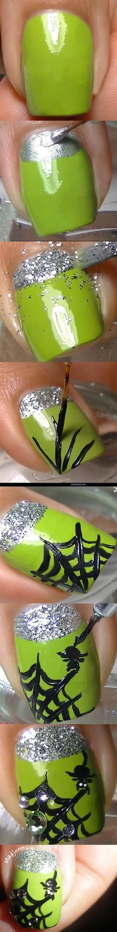 Step-by-Step Nail Art Tutorials // In need of a detox? 10% off using our discount code 'Pin10' at www.ThinTea.com.au